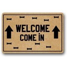 """Welcome Come in Decorative Doormat Indoor/Outdoor 23.6"""" x 15.7"""" No"""