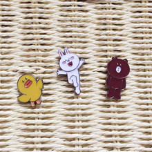 Hot new fashion, gorgeous women's clothing wholesale, girls birthday party, beautiful birds, white rabbit, bear, brooch giftSETS