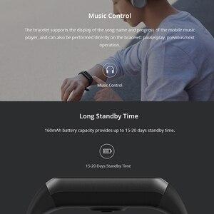 Image 5 - Amazfit Band Cor 2 умные часы, 5ATM, водонепроницаемые, 2.5D цветные, из нержавеющей стали, для Android, IOS, Huami, smartwatch, браслет
