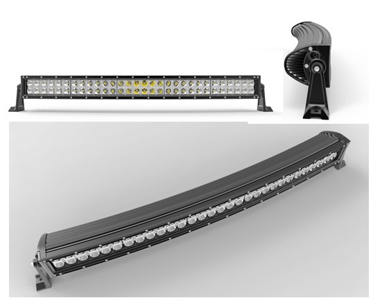 32 pouces 180 W incurvé LED barre lumineuse de travail pour tracteur bateau OffRoad 4WD 4x4 voiture camion SUV ATV