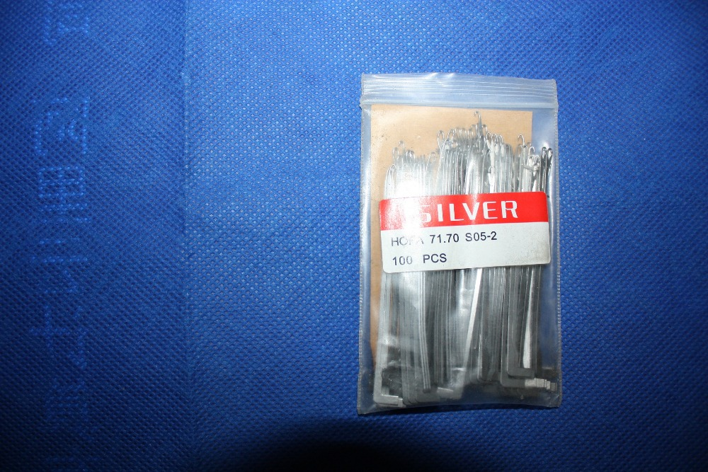 Matec Silver Socks Machine Use Needles HOFA 71.70 S05-2 / HOFA 71.70 S05-4