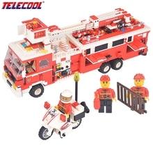 WANGE Brand 1395 Piece Emergency Rescue Team Building Block Set 3D Construction Brick Toys Inspiration Block Baby Gift 40021N YY