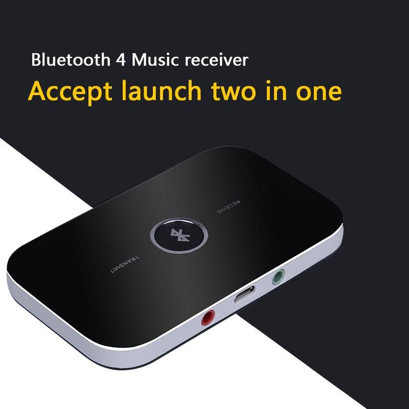 WunderschöNen Hohe Qualität B6 Mini 2 In 1 Wireless Bluetooth Audio Transmitter Empfänger 5 V 3,5mm Tragbare A2dp Musik Stereo Adapter Für Tv Mp3 Funkadapter