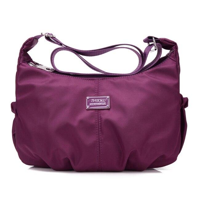 Nylon Women Shoulder Bags Hobos Designer Summer Style Handbags For Tote Crossbody Female Messenger