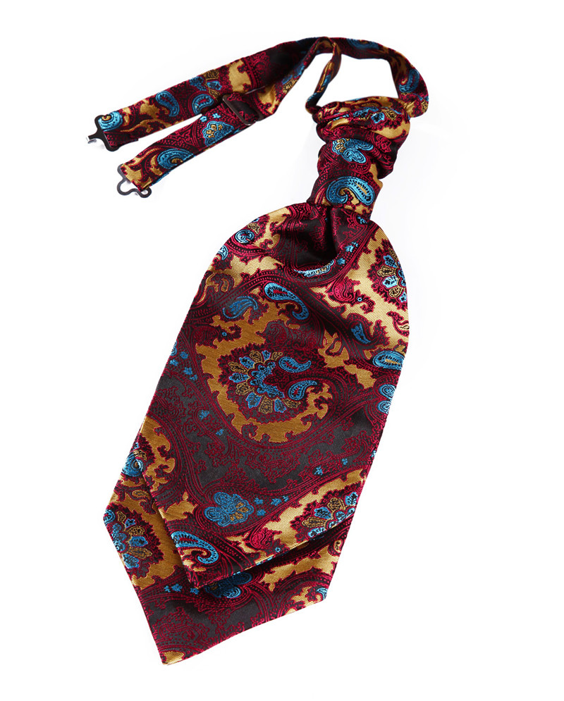 VE17 Burgundy Blue Paisley (8)
