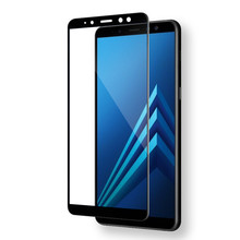 full cover tempered glass for Samsung Galaxy A8 A8 Plus 2018 screen protector for A8 A8+ A530F A530 A730 protective glass film