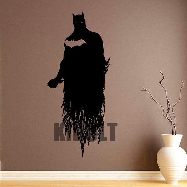 The Dark Knight Batman Vinyl Wall Decals Wall Stickers Decorative Wall  Sticker Cartoon Home Interior Bedroom