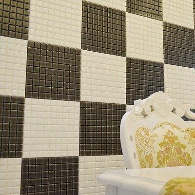 3D Brick Mirror Vinyl Home Room Decor Wall Decal Stickers Bedroom Removable DIY