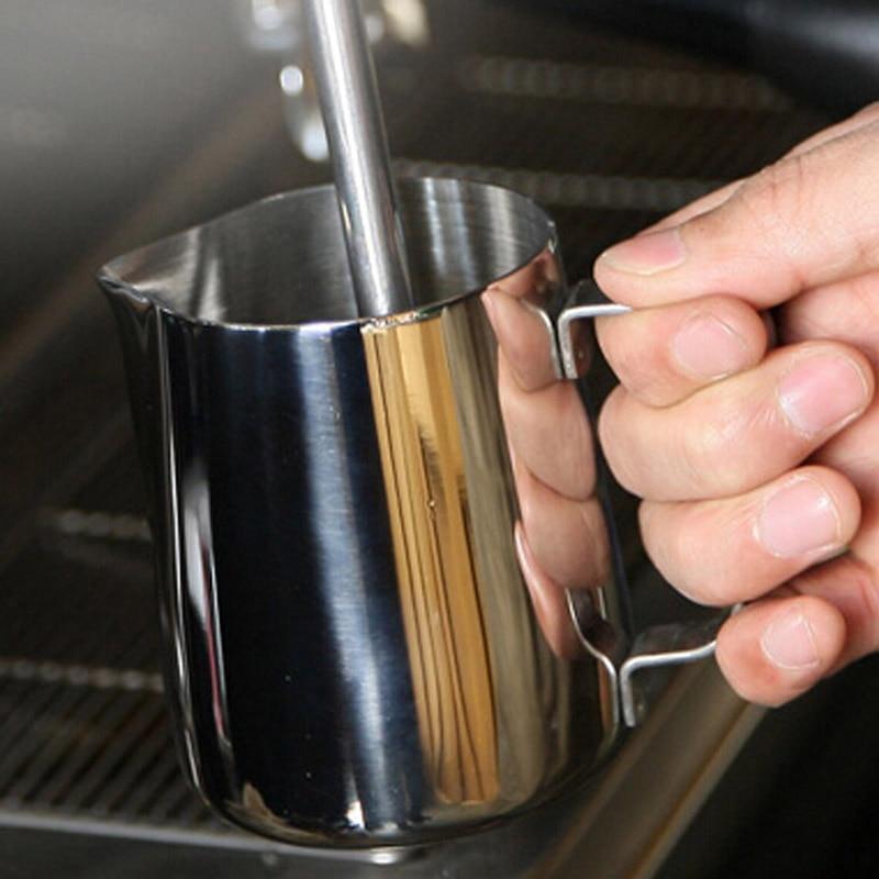 Fashion 600 ML Latte Art Cup Easy To Clean Coffee Frothing Office Home Milk Latte Jug Fancy Coffee Foam Cup Pitcher ijarl yijia ceramic jug korean milk pot cup cup japanese milk coffee pots are wave