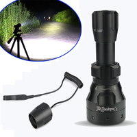 UniqueFire 1503 Cree XML T6 LED Flashlight 1200 LM 50mm Convex Lens Torch Lamp For 18650