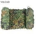 VILEAD 2 M * 4 m de caza de camuflaje militar redes bosque de Camo del ejército red Camping sol refugio tienda neto sombra coche toldo de refugio