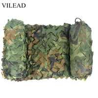 VILEAD 2x4M Jagd Military Camouflage Netze Woodland Armee Camo Netting Camping Sun Shelter Zelt Schatten Net Auto markise Abdeckung
