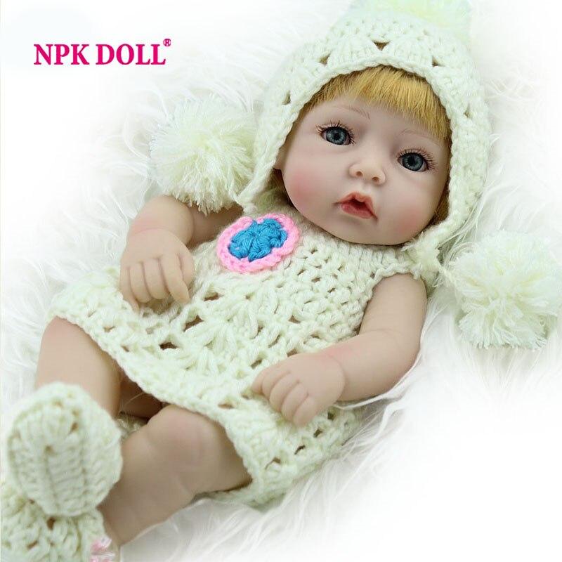 Dolls & Stuffed Toys 48cm Bebes Reborn Dolls Diy Toy For Girl And Boy Playmates Realistic Body Silicone Vinyl Reborn Baby Dolls Newborn Xmas Gifts Elegant And Graceful Dolls