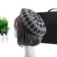 Lady Good Quality Woolen Knit Hats Women Winter Fashion Headwear Girls Beautiful Thick Warm Wool Beret