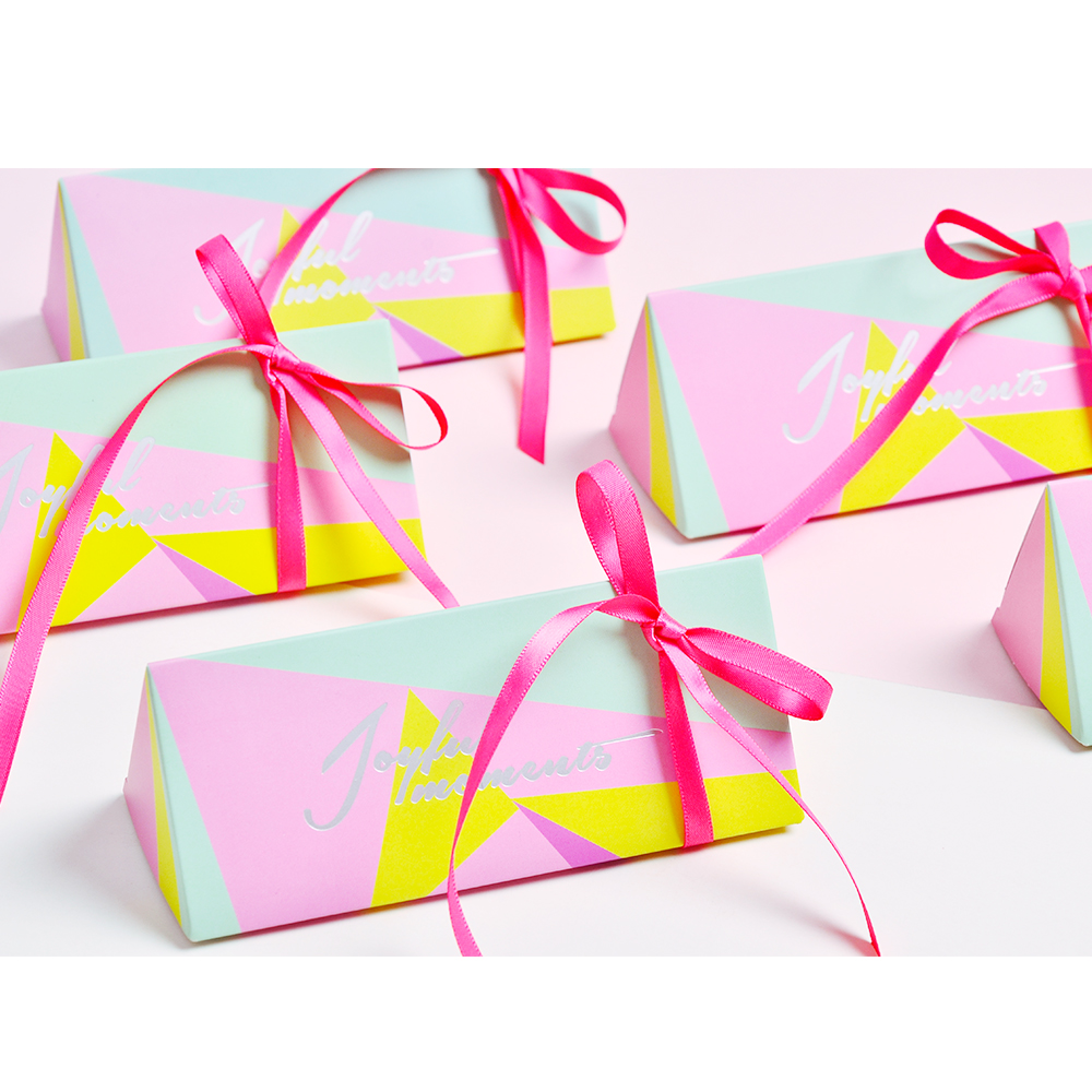 Aliexpress.com : Buy 50pcs European Leaf stripe Candy Boxes Wedding ...