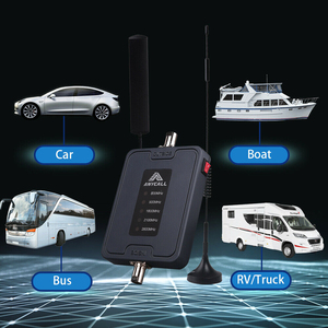 Image 5 - Car Use Mobile Cell Phone Signal Booster 800/900/1800/2100/2600MHz 2G 3G 4G LTE Amplifier Five Band 45dB Gain Cellular Repeater