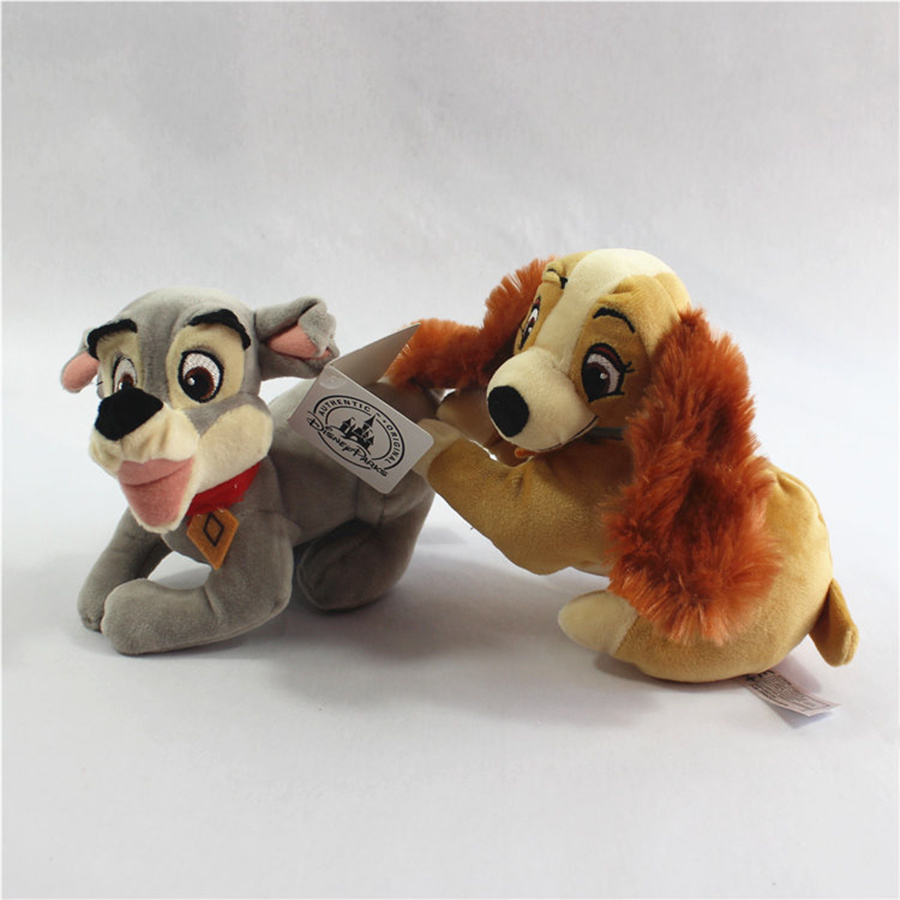 Best Seller 1pcs 15cm Lady And The Tramp Plush Doll Tramp Dog Stuffed Animals Dolls Plush Toys For Children Baby Soft Doll 46 Movies Tv Toys Net 24