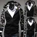 New 2014 Spring Military Camouflage Hoody Fleece Mens Hoodies & Sweatshirts Pullover Jackets Tracksuits M-XXL