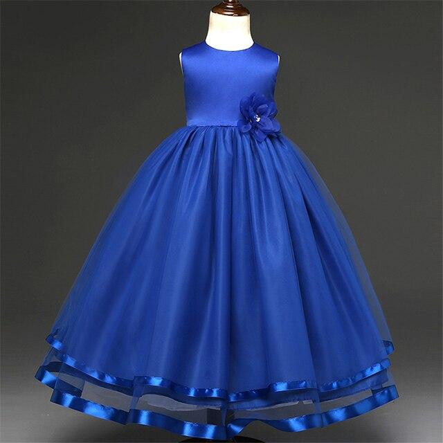 Dzieci Sukienki Dla Dziewczynek 4 12 Lat 2017 Nowy Kwiat Dziewczyna