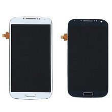 Replacement LCD Touch Screen Digitizer Display With Frame Assembly For Samsung S4 I9500 VI280 T18 0.4