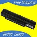Fpcbp250 fpcbp250ap bp250 jigu 5200 mah da bateria do portátil para fujitsu lifebook a530 ah530 ah531 lh52/c lh520 lh530 ph521 cp477891