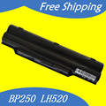 JIGU 5200mAH laptop battery BP250 FPCBP250 FPCBP250AP For Fujitsu LifeBook A530  AH530 AH531 LH52/C LH520 LH530 PH521 CP477891