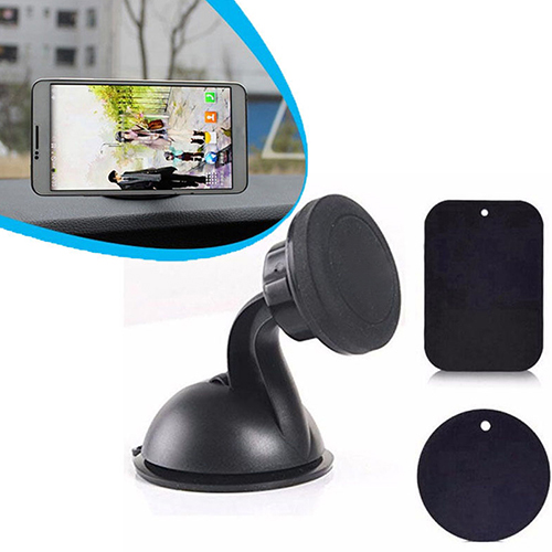 Universal Rotating Car Sucker Magnetic Holder Stand Mount for Cell Phone GPS