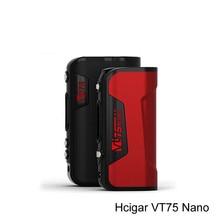 HCigar VT75 Nano D'origine Boîte Mod 18650 batterie livraison gratuite e cigarette Evolv DNA75 puce vt75 nano De kangertaike magasin