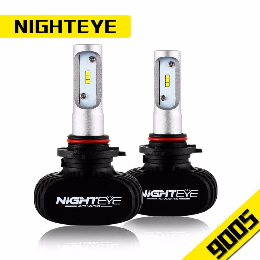 ФОТО 2017 IGHTEYE Car Headlight Bulbs 9005/9006/H4/H7/H11 12V Super Bright Led LED Headlamp Bulb 50W 6500K Headlights