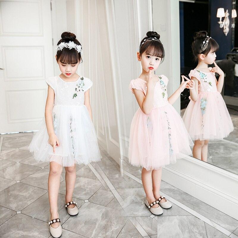 где купить Ballroom dresses girls elegant festive dress for wedding and birthday party evening summer girl princess dress по лучшей цене
