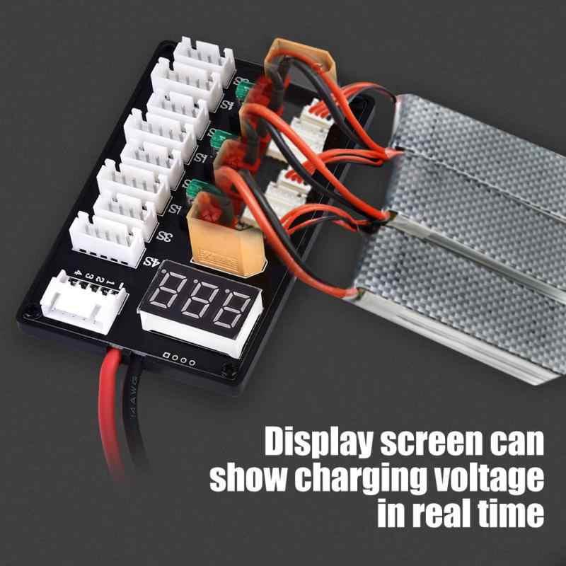 Новые 3 S 4S LiPo батареи параллельная зарядная плата XT60 контрольные выводы вилки типа «банан B6 Зарядное Устройство удаленного контрольные принадлежности Лидер продаж RC модели часть