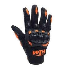 Guantes para carreras de motos, protectores de manos para Motocross, 1 par