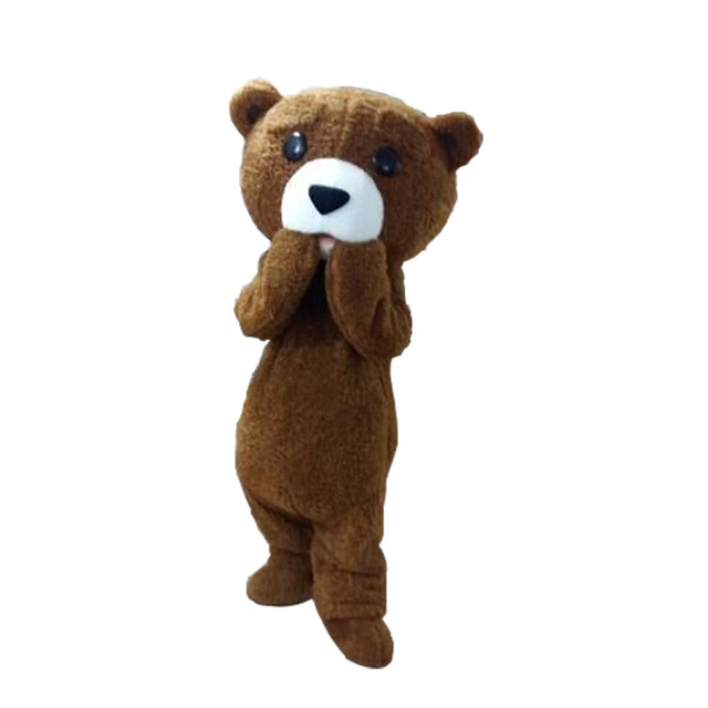 Hot sale Plush Teddy bear costume Adult size  sc 1 st  AliExpress.com & Hot sale Plush Teddy bear costume Adult size -in Anime Costumes from ...