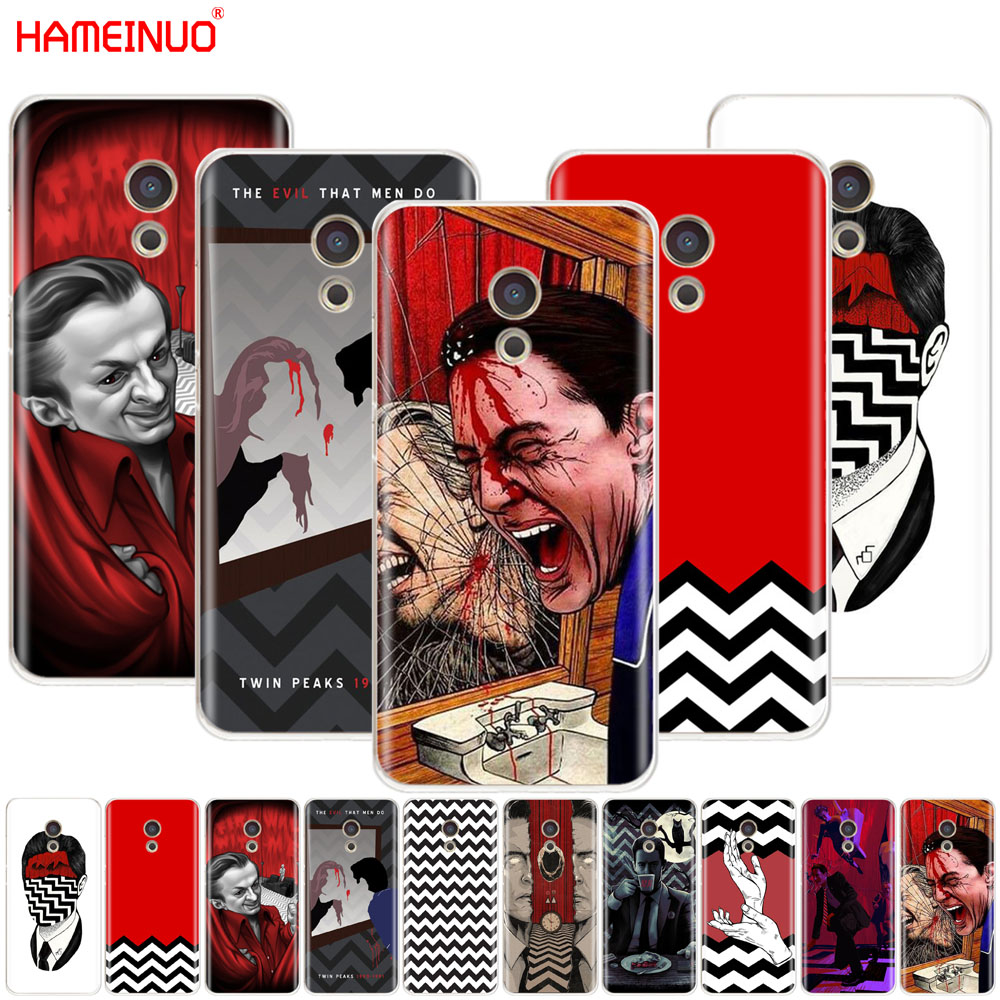 HAMEINUO Twin Peaks Fire Walk With Me Cover phone Case for Meizu M6 M5 M5S M2 M3 M3S MX4 MX5 MX6 PRO 6 5 U10 U20 note plus