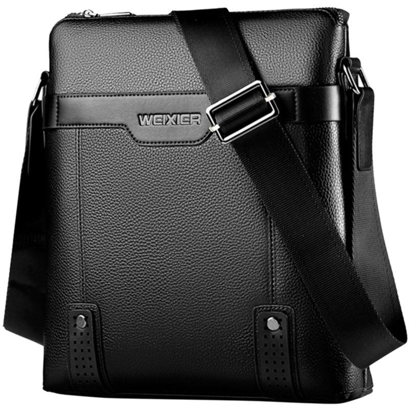 Men Messenger Bags Pu Leather Shoulder Crossbody Bag Men Handbag Male Small Bags Briefcase