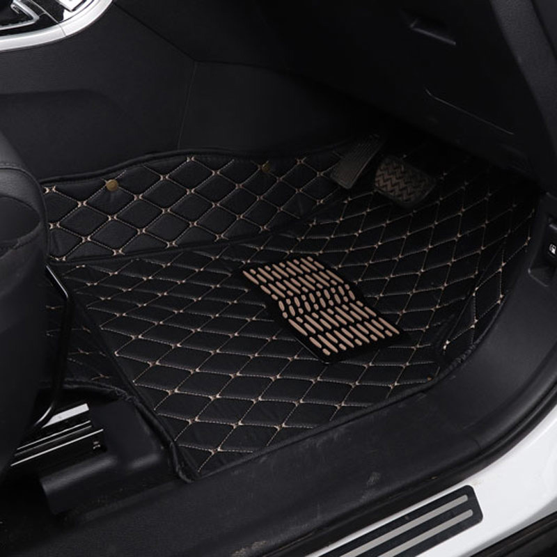 car floor mat auto accessories for right side driving <font><b>chrysler</b></font> <font><b>300c</b></font> PT Cruiser Sebring Grand Voager 2018 2017 2016 2015 2014 image