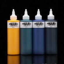 1 бутылка бренд Dynamic, краска для татуировок 250 мл унц. Ц. 330 г (8 цветов можно выбрать) татуировки пигмент комплект для подкладка и затенение