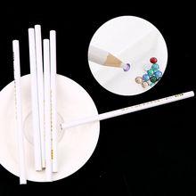 5 шт., профессиональная восковая точечная ручка, сделай сам, дизайн ногтей, стразы, драгоценные камни, палочки, хрустальные инструменты, карандаш, ручка, легко подобрать, ручка для маникюра