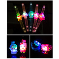 10Pcs/Lot New Creative Watch Christmas Halloween Birthday Party flash light-emitting bracelet gift children practical jokes toys
