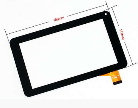 Free Film New Touch Screen Panel Digitizer Glass Sensor Replacement For 7 Tesla Magnet 7 0