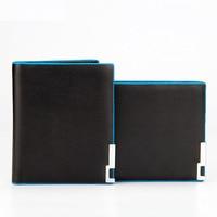 New Purse Men Wallet PU Leather Purse Luxury Designer Multi Card Bit Short Wallet Men Purse
