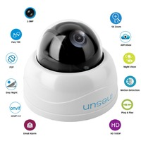 Inesun 2MP PTZ IP Home Security Camera 5X Optical Zoom Mini Network Dome Indoor Outdoor HD
