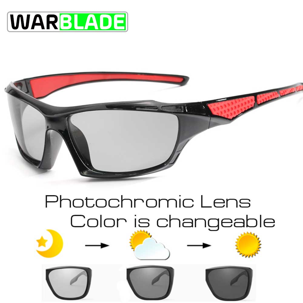 Photochrome Radfahren Sonnenbrille Fahrrad Brille Brillen UV400 Polarisierte MTB Road Fahrrad Brille Frauen Männer Outdoor Sport 1821
