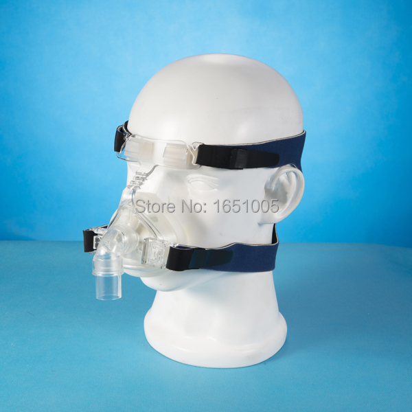 Nasal Mask Liquid Silicone CPAP Auto CPAP BiPAP Respirator Ventilator Part Nasal Mask with Headgear for Sleep Apnea