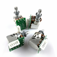 Potentiometer Push-Pull-Switch Lespaul B500K Standard 1piece with Circuit-Board for Epi