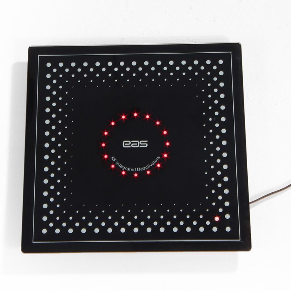 Deactivator da etiqueta do ponto de verificação rf8.2mhz eas com detector sadio e claro da etiqueta da segurança do supermercado do alarme 110 v-250 v