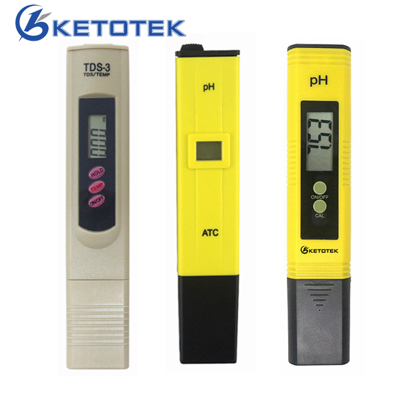 0.1-14.00 Portable Digital PH Meter Tester TDS Meter for Aquarium Pool Water Quality Lab PH Monitor with ATC цена