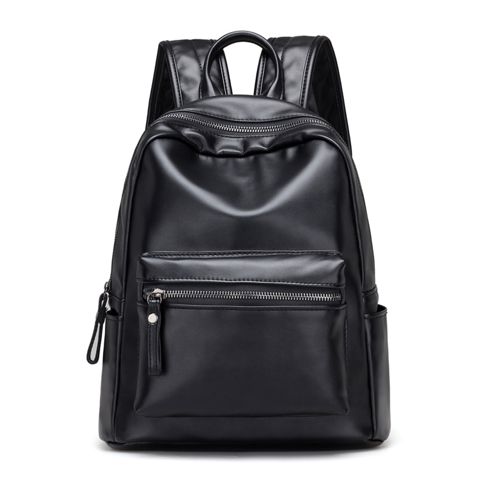 2017 Fashion Korean Women Backpack Student Schoolbag for Teenage Girls Women Leisure Travel Soft PU Leather Backpacks mochila women leather backpack designer backpacks for teenage girls schoolbag embroidery leisure travel rucksack knapsack women s bag5v4