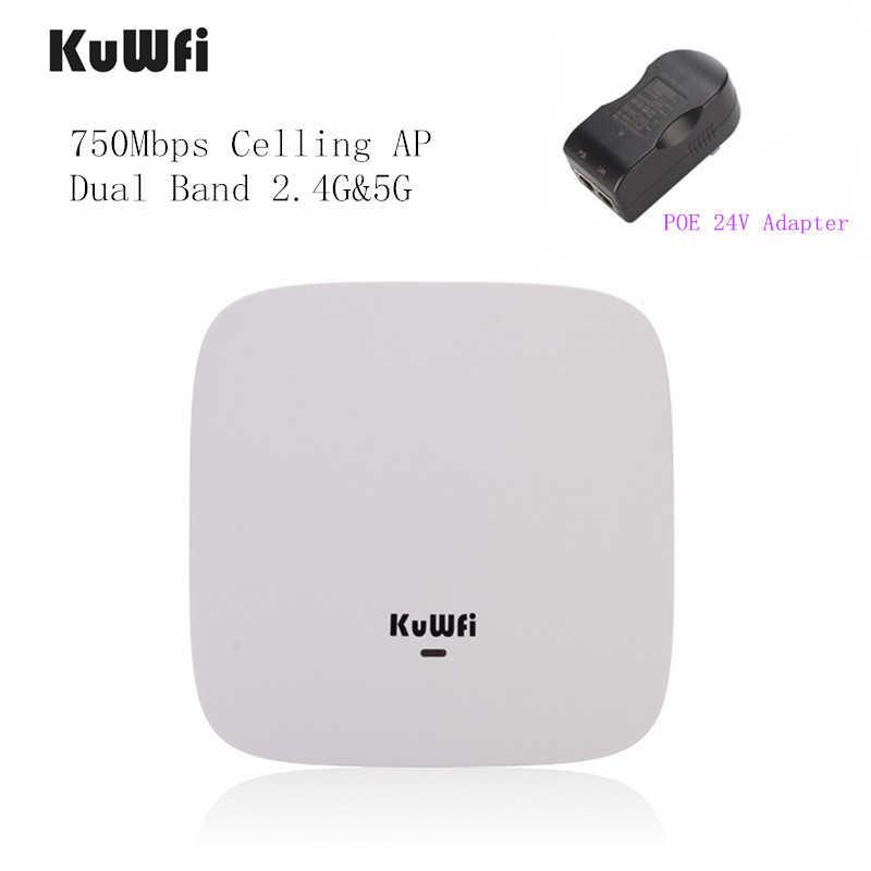 750Mbps Wireless Access Point Router High Power 2.4G/5G Ceiling AP Router 802.11ac Wifi Repeater Wifi Extender Support 24V POE totolink n600r 600mbps wifi router access point wifi repeater 4pcs of 5dbi antennas high power router english firmware