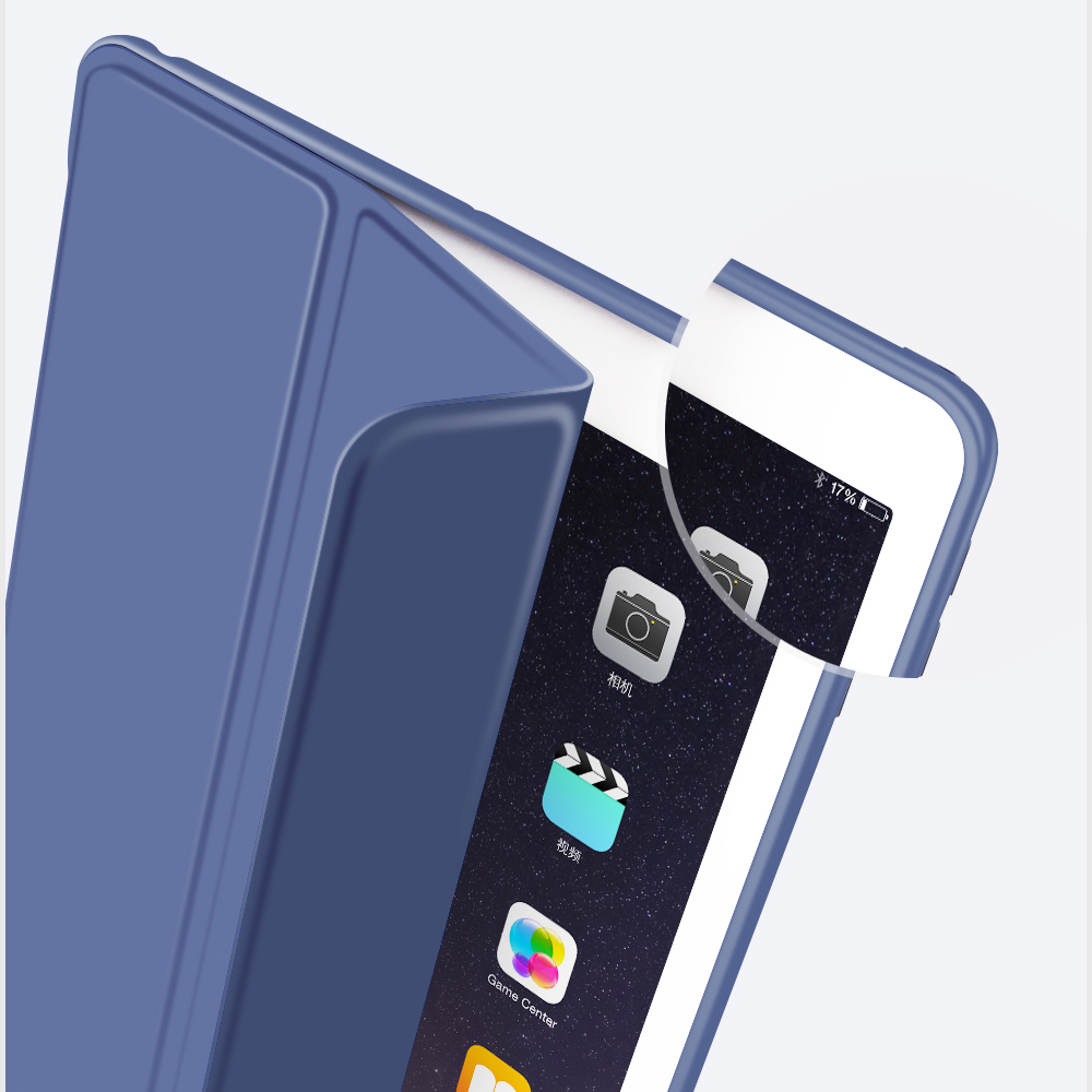 Jisoncase TPU Leather Smart Case for iPad Pro 10.5 inch 2017 Case New Fashion Brand Soft Flip Cover for Apple iPad Pro 10.5 Capa